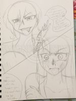 Vampire Knight Comic Sketch: Twisted Events by AnimeEmm