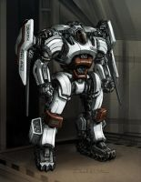 Bounty Hunter Death Squad Mech by Mecha-Zone