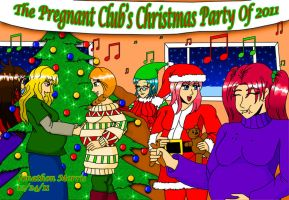 The Pregnant Club Christmas Party by JAM4077