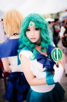 Im Sailor Neptune by MonicaWos