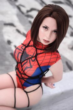 Rooftop Rope by AxilliaCosplay