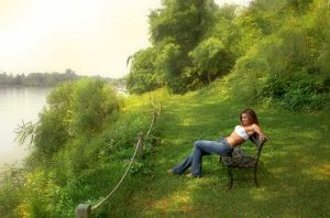 By the river by vincenthrd1