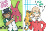 Tiger and Bunny by Engelmoon
