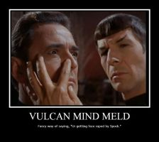Vulcan Mind Meld? by GinHollow