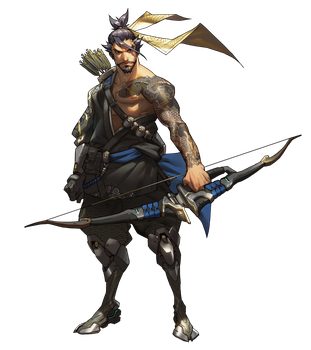 Hanzo - Overwatch by PlanK-69