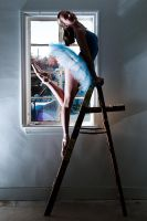 Dancer up a Ladder by HowNowVihao