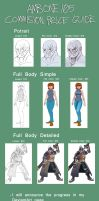 Commission Price Guide by AMBONE105