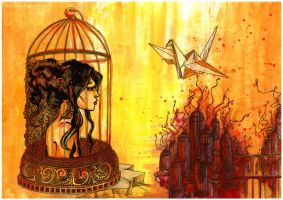 The Irony of the Mourning Dove by byalicia