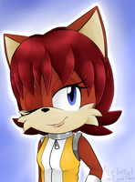 FIONA THE FOX SPEEDPAINT by AleTheDog1
