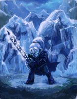 TCG: Death Knight Gnome by FreakyKitty