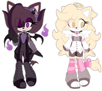 [CLOSED] AUCTION Hell X Heaven Adoptables by Fivey