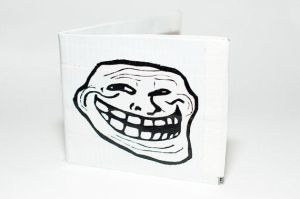 Troll Duct Tape Wallet by DancingInTwilight