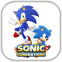 Sonic Generations Game Icon by Wolfangraul