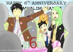 Happy 6th Anniversary Muslim-Manga! by MuhNaa
