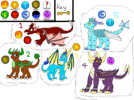 Spyro Adopts- 5 POINTS EACH- by Sooty123