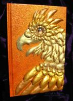 Golden Phoenix Book by sunhawk