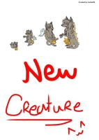 A new creature :3 by Lurker89