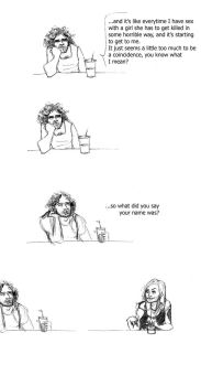 Sayid is fed up. by miss-marlene