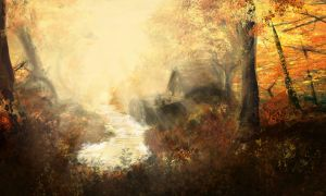 Autumnal Speedpaint by Robjenx