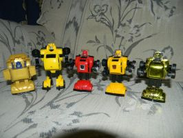 Transformers Bumblebee Collection 2 by Perceptor