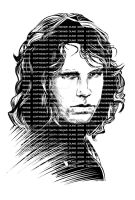 is it Jim Morrison? 3 by keithdraws