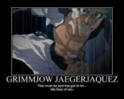 Grimmjow motivational by Uniquefantasy