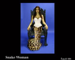 Snake Woman by bryden42
