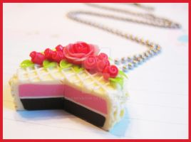Cake Necklace 1 by cherryboop