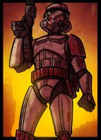 Battlefront Imperial Shock Trooper by JoeHoganArt