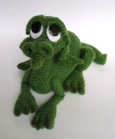 Errol the swamp dragon by LunasCrafts