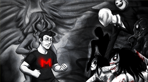 Markiplier Channel Art by HellLemur