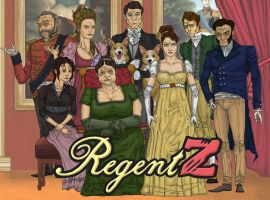 RegentZ Characters by haha-tommy
