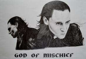Loki - God Of Mischief by cute06