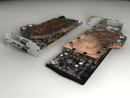 Radeon HD5870+EKFC Waterblock by DudQuitter