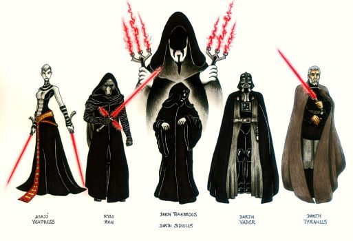 Sith Lords 1 by Joseph-Lazarus