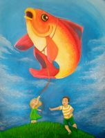 Balloon Fish by Chipo-H0P3