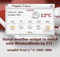 Dynyx Weather Widget by neophil