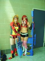 Rikku and Yoko- MCM Expo by Colzy-Chan