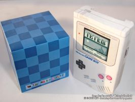GameBoy Papercraft 'Front' by Dil1880