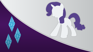 Rarity Wallpaper [Series 3] by Mateo-theFox