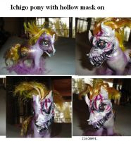 Custom Ichigo with hollow mask by Sapphire-Light