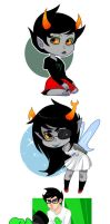 Homestuck 1 by fungiicide