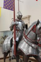 mounted knight close up 6 by oldsoulmasquer