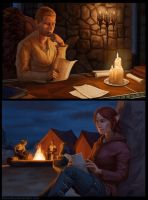 DA - Letters by Darantha