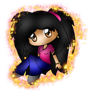 |\:. Chibi Rachel Ray Ray .:/| by XRayHedgehogX