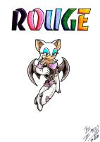 Rouge the Bat by D4V1N5