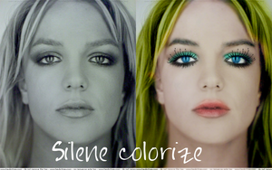 Britney Spears colorize by silene7
