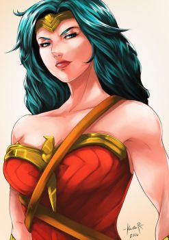 Wonder Woman by kevzter