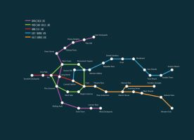 Underground Map for HYPERION by benjaminography