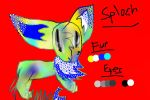 Mist's Next Genoration: Sploch the Eevee Hybrid by FearlessMist